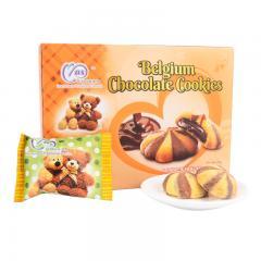 麦阿思巧克力味夹心松脆曲奇饼干110g