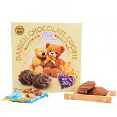 麦阿思巧克力味小熊松脆曲奇饼干 110g
