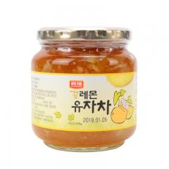 韩福10.2蜂蜜柠檬柚子茶580g