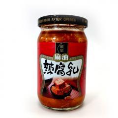 【原装进口】台宴麻油辣腐乳350g