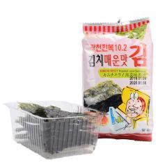韩福10.2海苔(泡菜风味)13.5g